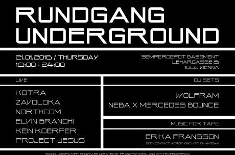Rundgang_underground-poster