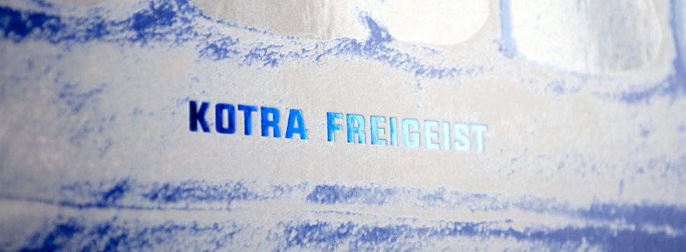 "new LP of Kotra ""Freigeist"" on Kvitnu - design by Zavoloka"